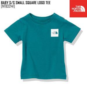 2021 春夏 新作 ノースフェイス  ベビー ショートスリーブ スモール スクエア ロゴ ティー BABY S/S SMALL  SQUARE LOGO TEE Tシャツ トップス NTB32141|northfeel-apparel