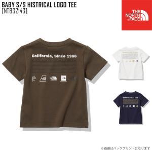 2021 春夏 新作 ノースフェイス THE NORTH FACE ベビー ショートスリーブ ヒストリカル ロゴ ティー BABY S/S HISTRICAL LOGO TEE Tシャツ トップス NTB32143|northfeel-apparel