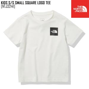 2021 春夏 新作 ノースフェイス キッズ ショートスリーブ スモール スクエア ロゴ ティー KIDS S/S SMALL SQUARE LOGO TEE Tシャツトップス NTJ32141|northfeel-apparel