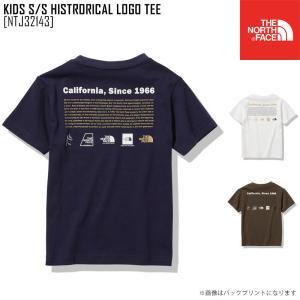 2021 春夏 新作 ノースフェイス THE NORTH FACE キッズ ショートスリーブ ヒストリカル ロゴ ティー KIDS S/S HISTRORICAL LOGO TEE Tシャツトップス NTJ32143|northfeel-apparel