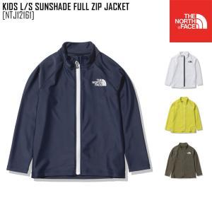 2021 春夏 新作 ノースフェイス  キッズ ロングスリーブ サンシェード フル ジップ ジャケット KIDS L/S SUNSHADE FULL ZIP JACKET ジャケット NTJ12161|northfeel-apparel