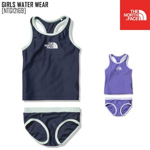 2021 春夏 新作 ノースフェイス THE NORTH FACE ガールズ ウォーター ウエア GIRLS WATER WEAR 水着 タンキニ NTG12169 キッズ|northfeel-apparel