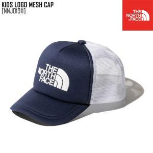 2021 春夏 新作 ノースフェイス THE NORTH FACE キッズ ロゴ メッシュ キャップ KIDS LOGO MESH CAP 帽子 キャップ NNJ01911 キッズ|northfeel-apparel