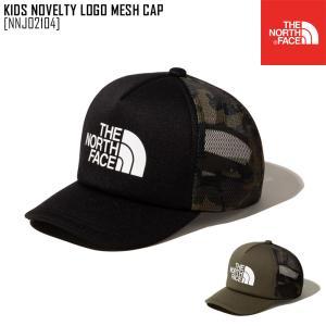 2021 春夏 新作 ノースフェイス THE NORTH FACE キッズ ノベルティ ロゴ メッシュ キャップ KIDS NOVELTY LOGO MESH CAP 帽子 キャップ NNJ02104 キッズ|northfeel-apparel