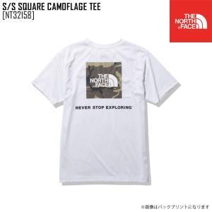 2021 春夏 新作 ノースフェイス THE NORTH FACE ショートスリーブ スクエア カモフラージュ ティー S/S SQUARE CAMOFLUGE TEE Tシャツ トップス NT32158 メンズ|northfeel-apparel