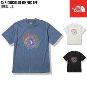 2021 春夏 新作 ノースフェイス THE NORTH FACE ショートスリーブ サーキュラー ハイカーズ ティー S/S CIRCULAR HIKERS TEE Tシャツ トップス NT32103 メンズ|northfeel-apparel