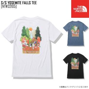 2021 春夏 新作 ノースフェイス THE NORTH FACE ショートスリーブ ヨセミテ フォールズ ティー S/S YOSEMITE FALLS TEE Tシャツ トップス NTW32105 レディース northfeel-apparel