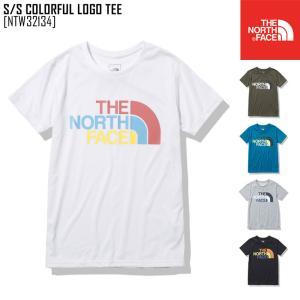 2021 春夏 新作 ノースフェイス THE NORTH FACE ショートスリーブ カラフル ロゴ ティー S/S COLORFUL LOGO TEE Tシャツ トップス NTW32134 レディース northfeel-apparel