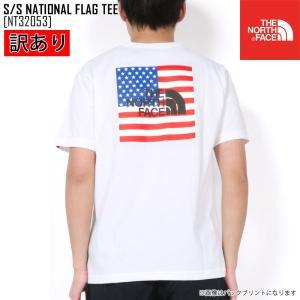 B級品 セール SALE ノースフェイス THE NORTH FACE ショートスリーブ ナショナル フラッグ ティー S/S NATIONAL FLAG TEE Tシャツ トップス NT32053 メンズ northfeel-apparel