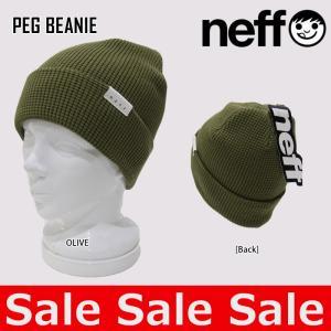 ネフ NEFF ニット帽 PEG BEANIE 15F03041 ビーニー|northfeel