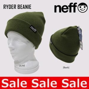 ネフ NEFF ニット帽 RYDER BEANIE 15F03032 ビーニー|northfeel