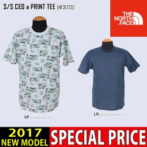 30%OFFセール THE NORTH FACE ノースフェイス Tシャツ S/S CEO α PRINT TEE 半袖 NT31723 メンズ|northfeel