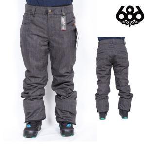 17-18 即日発送 686 SIX EIGHT SIX ウェア RAW INSULATED PANT スノボ パンツ L7W209 メンズ|northfeel
