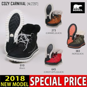 SOREL ソレル ブーツ COZY CARNIVAL 靴 NL2297 レディース スノーブーツ northfeel