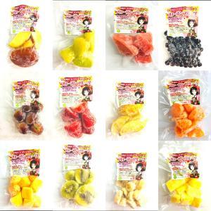 冷凍フルーツ 12種類セット 100g×12 国産冷凍フルーツ8種類 + 海外産冷凍フルーツ4種類 ※ 只今、2セット購入で1セットプレゼント中 【消費税込み】