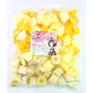 冷凍トロピカルフルーツ (マンゴー、バナナ、パイン) 250g 【消費税込み】