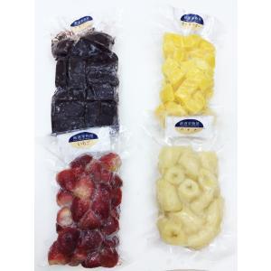アサイーボウルセット(冷凍) 無糖(アサイー)(バナナ)(マンゴー)(いちご) 各100g×2個入り...