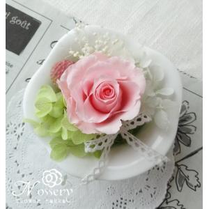 プリザーブドフラワー誕生日プレゼント・母の日 プチギフトフラワー・ピンク|nossery