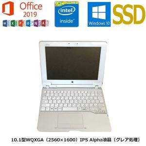 タブレット 富士通Arrows Tab Q584/H/Microsoft Office 2019/ATOM Z3770 1.46GHz 4G 64GB 10.1型 カ..