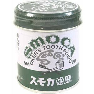 スモカ 歯磨 緑缶155g|notorious