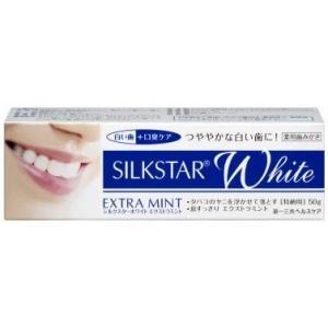 薬用歯磨き シルクスターホワイト エクストラミント4個セット|notorious