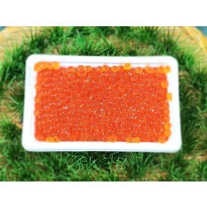 北海道 鮭いくら醤油漬け(冷凍)250gケース入り|notosuisan