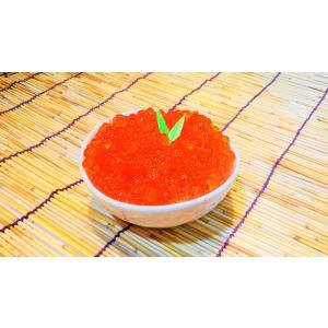 北海道産 冷凍鮭いくら醤油漬け 250gケース入り【95】【ギフト】|notosuisan