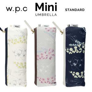 折りたたみ傘 レディース傘 wpc ラインフラワー mini w.p.c ワールドパーティー