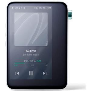 (中古品)ACTIVO CT10 [Cool White] ハイレゾ対応ポータブルオーディオプレーヤ...