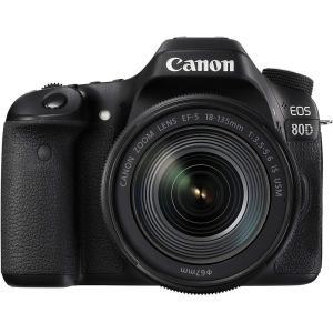 キヤノン Canon EOS 80D レンズキット EF-S18-135mm F3.5-5.6 IS...