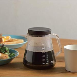 ガラスのように透明なのに割れにくい!丈夫なコーヒーサーバーができました。 食洗機対応。  ・サイズ:...