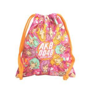 巾着袋 給食袋 AKB0048 入学準備 キャラクター コップ袋 きんちゃく 小物入れ 子供用 Sサイズ 02901 全4色|novice-sf