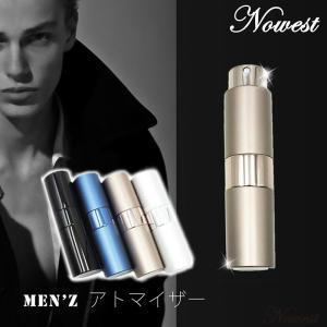 大容量 メンズ アトマイザー 香水 大人 男性 プッシュ式 詰め替え 持ち運び 身だしなみ 携帯用|nowest-shop