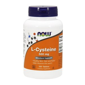 ナウフーズ Lシステイン 500mg 100錠 L-Cysteine 500mg 100tablets Now Foods