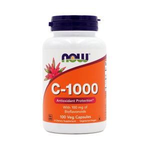 ナウフーズ ビタミンC-1000 1,000mg 100ベジカプセル Now Foods C-100...