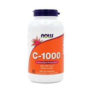 ナウフーズ C-1000、バイオフラボノイド 100mg入り 250ベジカプセル Now Foods...