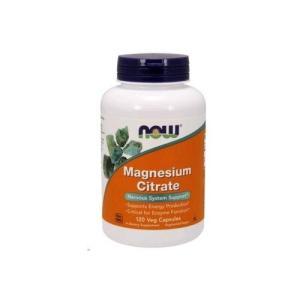 ナウフーズ クエン酸マグネシウム 120ベジカプセル Now Foods Magnesium Cit...