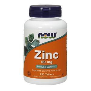ナウフーズ 亜鉛 50mg 250錠 Now Foods Zinc 50 250 Tablets