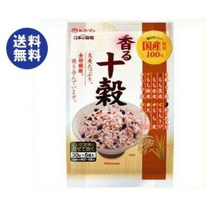 送料無料 キッコーマン 日本の穀物 香る十穀 180g(30g×6)×12袋入|nozomi-market