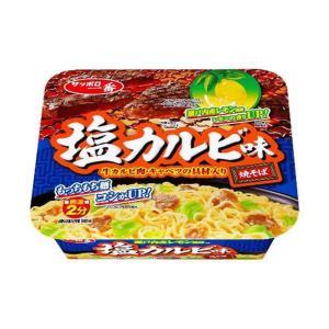 送料無料 サンヨー食品 サッポロ一番 塩カルビ味焼そば 109g×12個入 nozomi-market