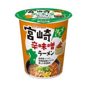【送料無料】マルタイ 宮崎辛味噌ラーメン 63g×12個入|nozomi-market