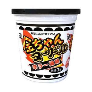 送料無料 徳島製粉 金ちゃんヌードル 辛ラー油味 81g×12個入|nozomi-market
