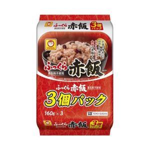 【送料無料】東洋水産 ふっくら赤飯 3個パック (160g×3個)×8個入|nozomi-market