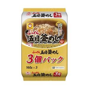 【送料無料】東洋水産 ふっくら 五目釜めし 3個パック (160g×3個)×8個入|nozomi-market