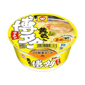 送料無料 東洋水産 マルちゃん 黄色いまめ博多ラーメン 37g×12個入|nozomi-market