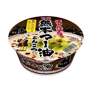送料無料 明星食品 チャルメラどんぶり 博多バリカタ豚骨 75g×12個入|nozomi-market
