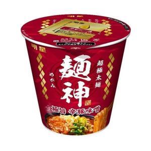 送料無料 明星食品 麺神 神太麺×旨 味噌 102g×12個入|nozomi-market
