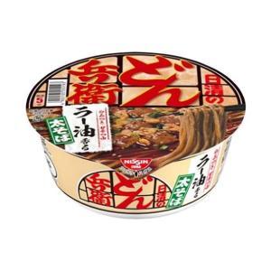 送料無料 日清食品 日清のどん兵衛 ラー油そば 98g×12個入|nozomi-market