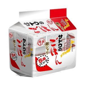送料無料 【2ケースセット】サトウ食品 サトウのごはん 銀シャリ 5食パック (200g×5食)×8袋入×(2ケース)|nozomi-market
