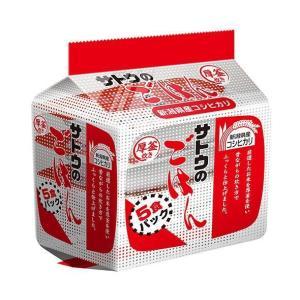 送料無料 【2ケースセット】サトウ食品 サトウのごはん 新潟県産コシヒカリ 5食パック 200g×5食×8個入×(2ケース)|nozomi-market